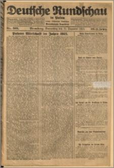 Deutsche Rundschau in Polen. J. 32 (49), 1925, nr 301