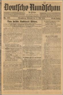 Deutsche Rundschau in Polen. J. 33 (50), 1926, nr 107