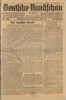 Deutsche Rundschau in Polen. J. 33 (50), 1926, nr 108