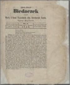 Biedaczek : czyli mały i tani tygodnik dla biednego ludu, 1849.01.05 R. 2 nr 1