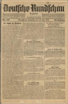 Deutsche Rundschau in Polen. J. 33 (50), 1926, nr 170