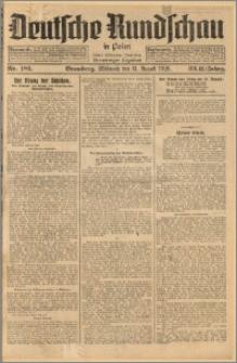 Deutsche Rundschau in Polen. J. 33 (50), 1926, nr 181