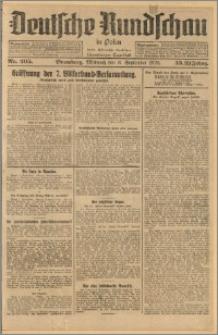 Deutsche Rundschau in Polen. J. 33 (50), 1926, nr 205