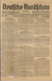 Deutsche Rundschau in Polen. J. 33 (50), 1926, nr 219