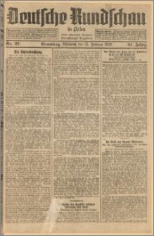 Deutsche Rundschau in Polen. J. 51, 1927, nr 37