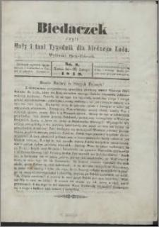 Biedaczek : czyli mały i tani tygodnik dla biednego ludu, 1849.02.23 R. 2 nr 8