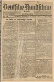Deutsche Rundschau in Polen. J. 51, 1927, nr 43