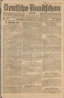 Deutsche Rundschau in Polen. J. 51, 1927, nr 46