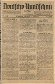 Deutsche Rundschau in Polen. J. 51, 1927, nr 114