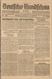 Deutsche Rundschau in Polen. J. 51, 1927, nr 158