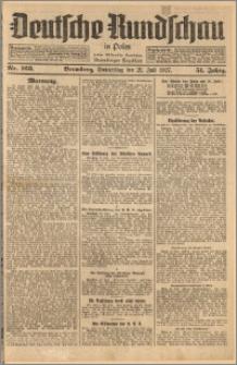 Deutsche Rundschau in Polen. J. 51, 1927, nr 163