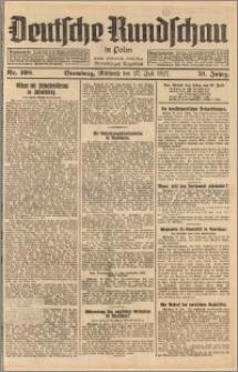 Deutsche Rundschau in Polen. J. 51, 1927, nr 168