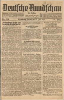 Deutsche Rundschau in Polen. J. 51, 1927, nr 170