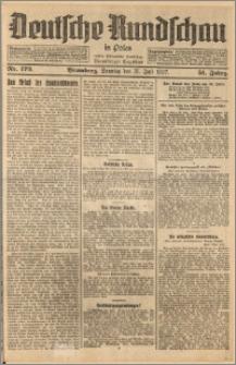 Deutsche Rundschau in Polen. J. 51, 1927, nr 172