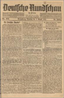 Deutsche Rundschau in Polen. J. 51, 1927, nr 173