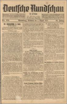 Deutsche Rundschau in Polen. J. 51, 1927, nr 174