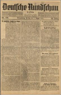 Deutsche Rundschau in Polen. J. 51, 1927, nr 176