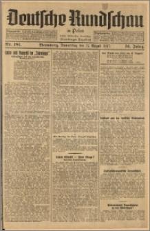 Deutsche Rundschau in Polen. J. 51, 1927, nr 181