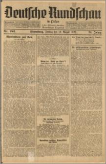 Deutsche Rundschau in Polen. J. 51, 1927, nr 182