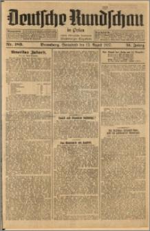 Deutsche Rundschau in Polen. J. 51, 1927, nr 183