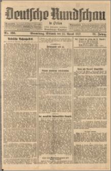 Deutsche Rundschau in Polen. J. 51, 1927, nr 191