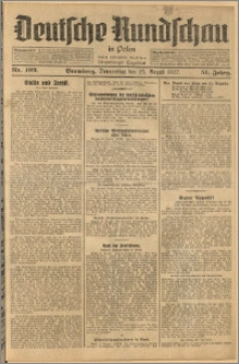 Deutsche Rundschau in Polen. J. 51, 1927, nr 192