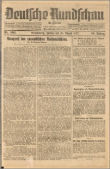 Deutsche Rundschau in Polen. J. 51, 1927, nr 193
