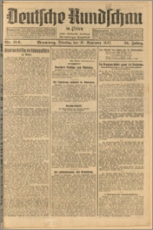 Deutsche Rundschau in Polen. J. 51, 1927, nr 214