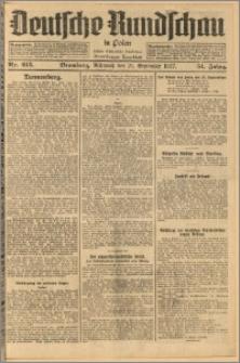 Deutsche Rundschau in Polen. J. 51, 1927, nr 215