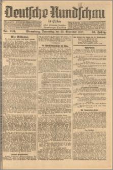 Deutsche Rundschau in Polen. J. 51, 1927, nr 216