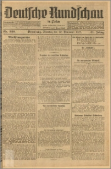 Deutsche Rundschau in Polen. J. 51, 1927, nr 220