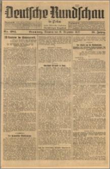 Deutsche Rundschau in Polen. J. 51, 1927, nr 284