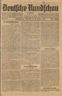 Deutsche Rundschau in Polen. J. 52, 1928, nr 17