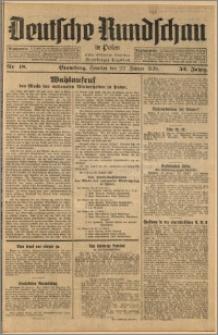 Deutsche Rundschau in Polen. J. 52, 1928, nr 18
