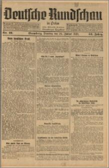 Deutsche Rundschau in Polen. J. 52, 1928, nr 19