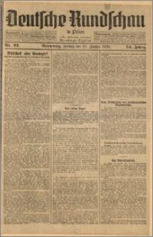 Deutsche Rundschau in Polen. J. 52, 1928, nr 22