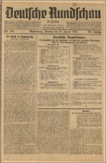 Deutsche Rundschau in Polen. J. 52, 1928, nr 24