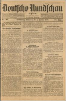 Deutsche Rundschau in Polen. J. 52, 1928, nr 27