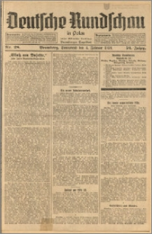 Deutsche Rundschau in Polen. J. 52, 1928, nr 28