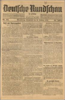 Deutsche Rundschau in Polen. J. 52, 1928, nr 34
