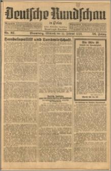 Deutsche Rundschau in Polen. J. 52, 1928, nr 37