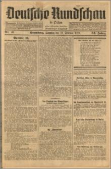 Deutsche Rundschau in Polen. J. 52, 1928, nr 41