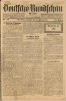 Deutsche Rundschau in Polen. J. 52, 1928, nr 42
