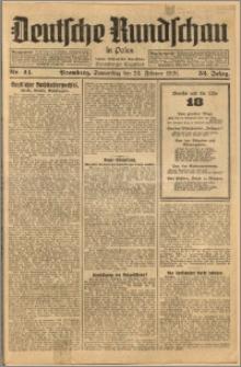 Deutsche Rundschau in Polen. J. 52, 1928, nr 44