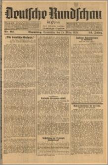 Deutsche Rundschau in Polen. J. 52, 1928, nr 62
