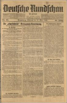 Deutsche Rundschau in Polen. J. 52, 1928, nr 67