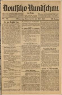 Deutsche Rundschau in Polen. J. 52, 1928, nr 70