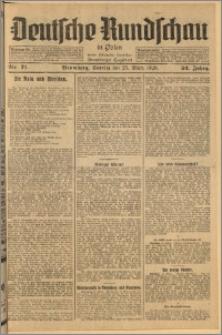Deutsche Rundschau in Polen. J. 52, 1928, nr 71
