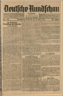 Deutsche Rundschau in Polen. J. 52, 1928, nr 92