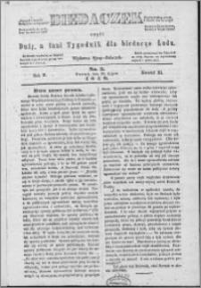 Biedaczek : czyli mały i tani tygodnik dla biednego ludu, 1849.07.20 R. 2 nr 3
